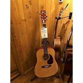 used kansas kacp acoustic guitar natural guitar center. Black Bedroom Furniture Sets. Home Design Ideas
