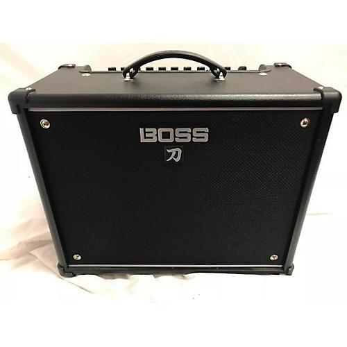 used boss katana ktn 50 guitar combo amp guitar center. Black Bedroom Furniture Sets. Home Design Ideas