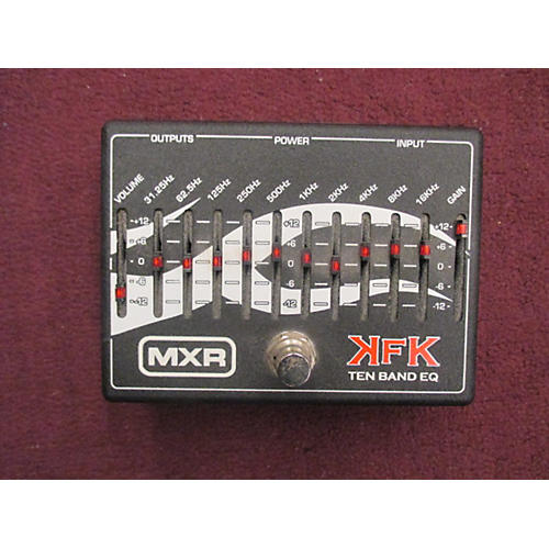 MXR KFK1 Black Pedal