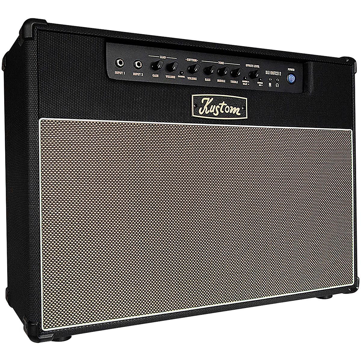 Kustom KG100FX212 100-Watt 2x12 Guitar Combo Amplifier