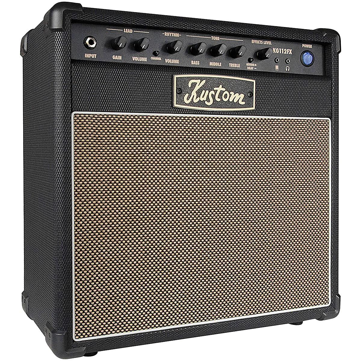 Kustom KG112FX 20W 1x12 Guitar Combo Amp