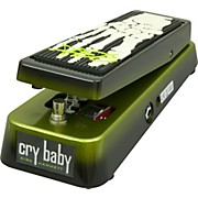 KH95 Kirk Hammett Signature Cry Baby Wah Guitar Effects Pedal Black and Green