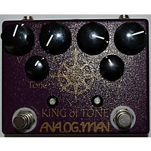 Analogman KING OF TONE V4 Effect Pedal