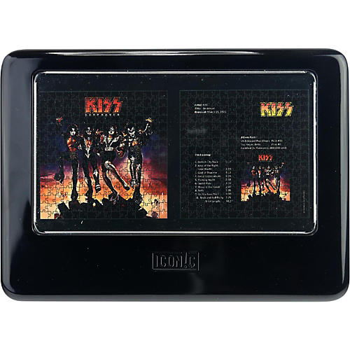Iconic Concepts KISS Destroyer Double Puzzle Set in Tin Box - Dual Pack Album Size Puzzles