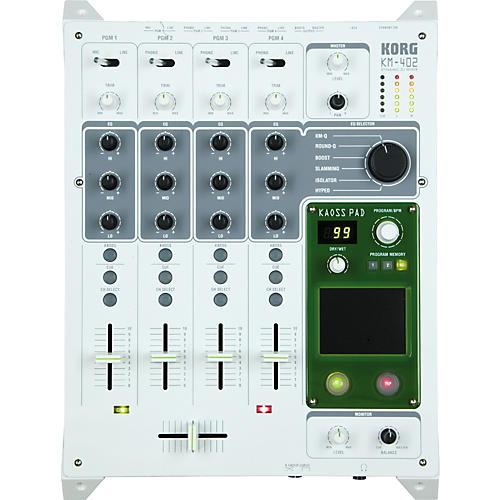 Korg KM-402 4-Channel KAOSS DJ Mixer