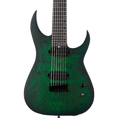 Schecter Guitar Research KM-7 MK-III Standard Burl Top 7-String Electric Guitar