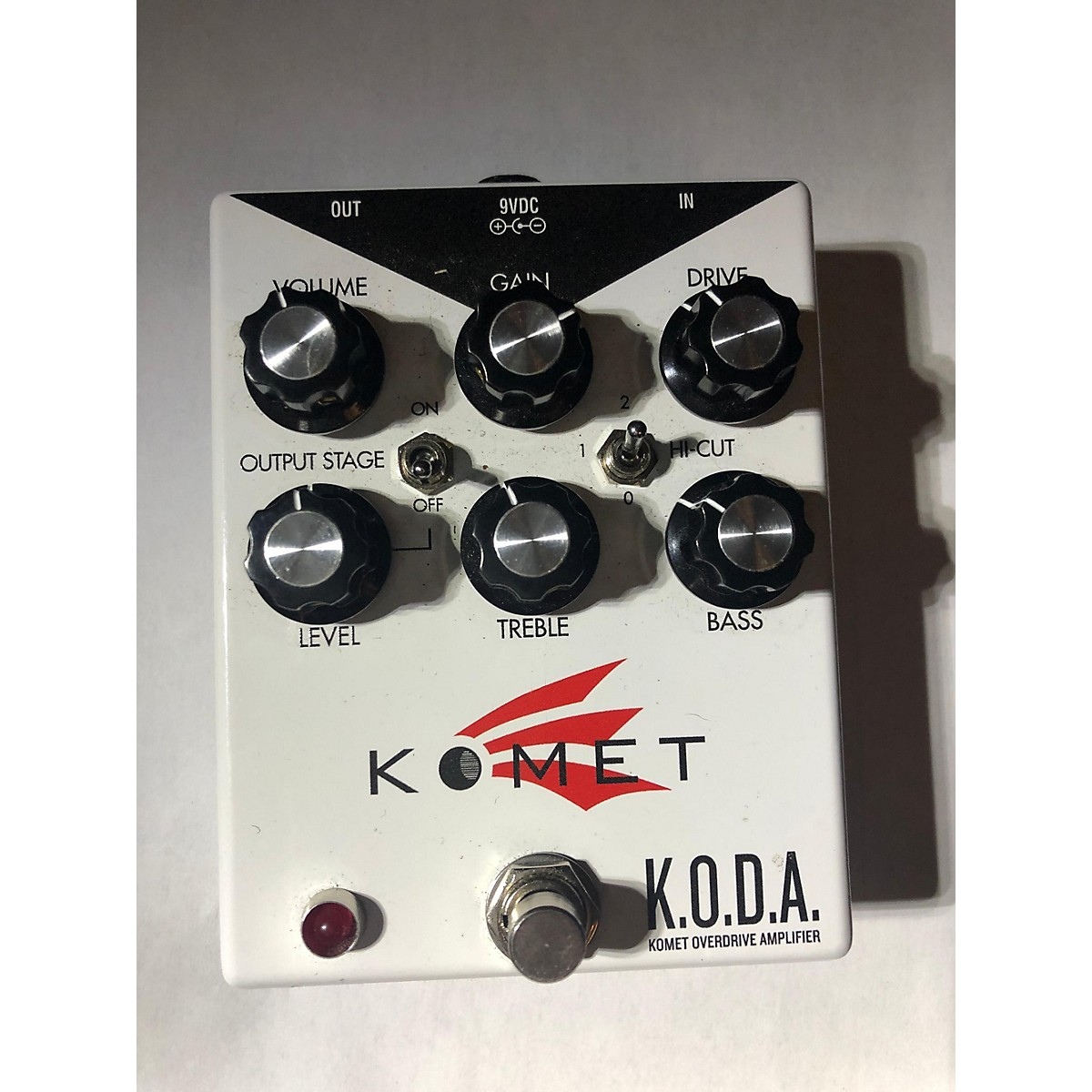 Keeley KOMET K.O.D.A OVERDRIVE Effect Pedal