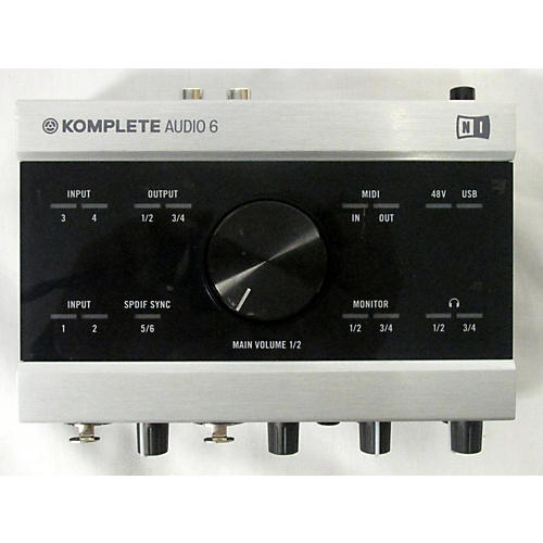 used native instruments komplete audio 6 audio interface guitar center. Black Bedroom Furniture Sets. Home Design Ideas