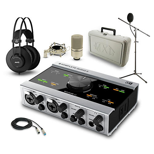 Native Instruments KOMPLETE AUDIO 6 K52 and 990 Package