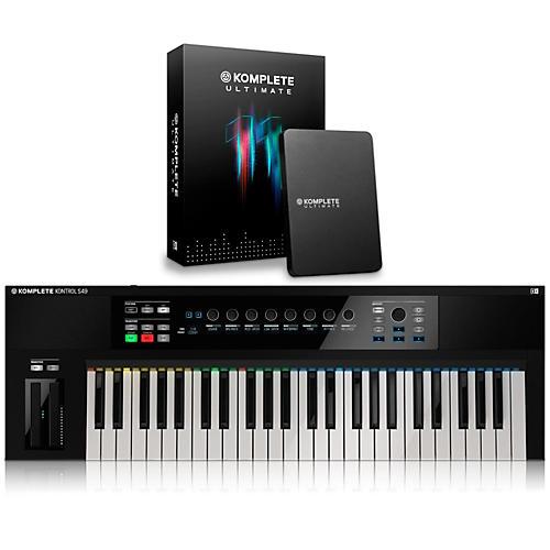 Native Instruments KOMPLETE KONTROL S49 Keyboard Controller with KOMPLETE 11 Ultimate