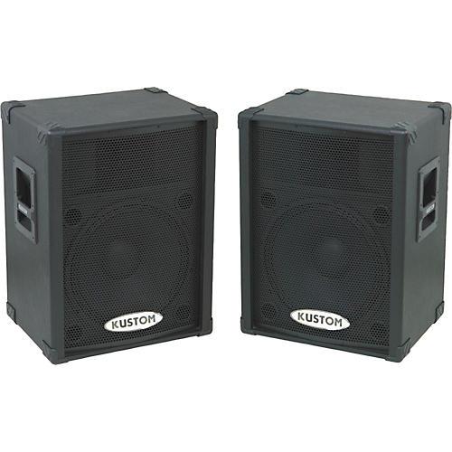 Kustom PA KPC15P Powered Speaker Pair