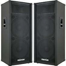 Kustom PA KPC215H 2X15 PA Cabinet Pair