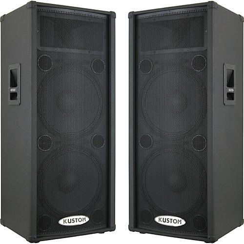 Kustom PA KPC215HP Powered Speaker Pair