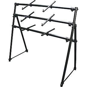 on stage ks 7903 3 tier a frame keyboard stand guitar center. Black Bedroom Furniture Sets. Home Design Ideas