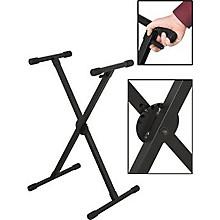 On-Stage KS8290X Lok-Tight Pro Single-X ERGO-LOK Keyboard Stand