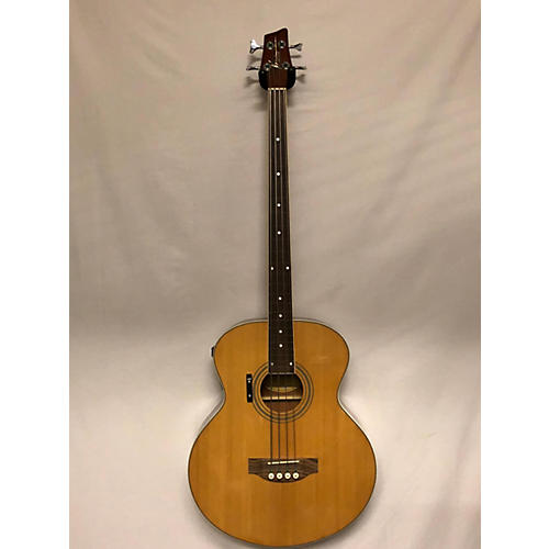 Kona KSABNE Acoustic Bass Guitar