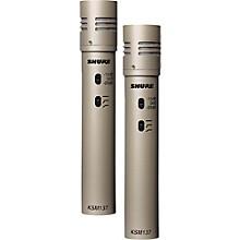 Shure KSM137/SL STEREO Cardioid Condenser (Stereo Pair) Level 1 Champagne