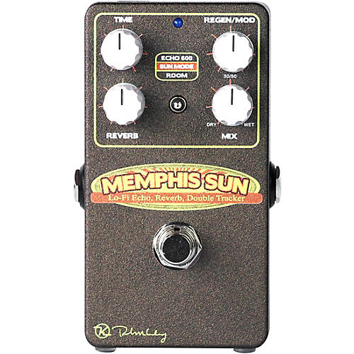 Keeley KSUN Memphis Sun Lo Fi Delay Reverb Effects Pedal