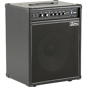 kustom kxb100 100w 1x15 bass combo amp black guitar center. Black Bedroom Furniture Sets. Home Design Ideas