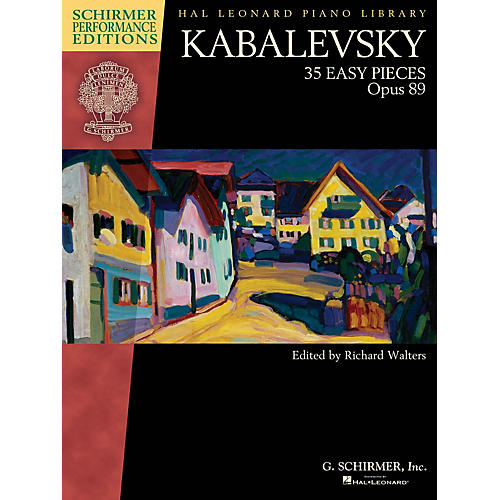 G. Schirmer Kabalevsky - 35 Easy Pieces, Op. 89 for Piano Schirmer Performance Editions Softcover