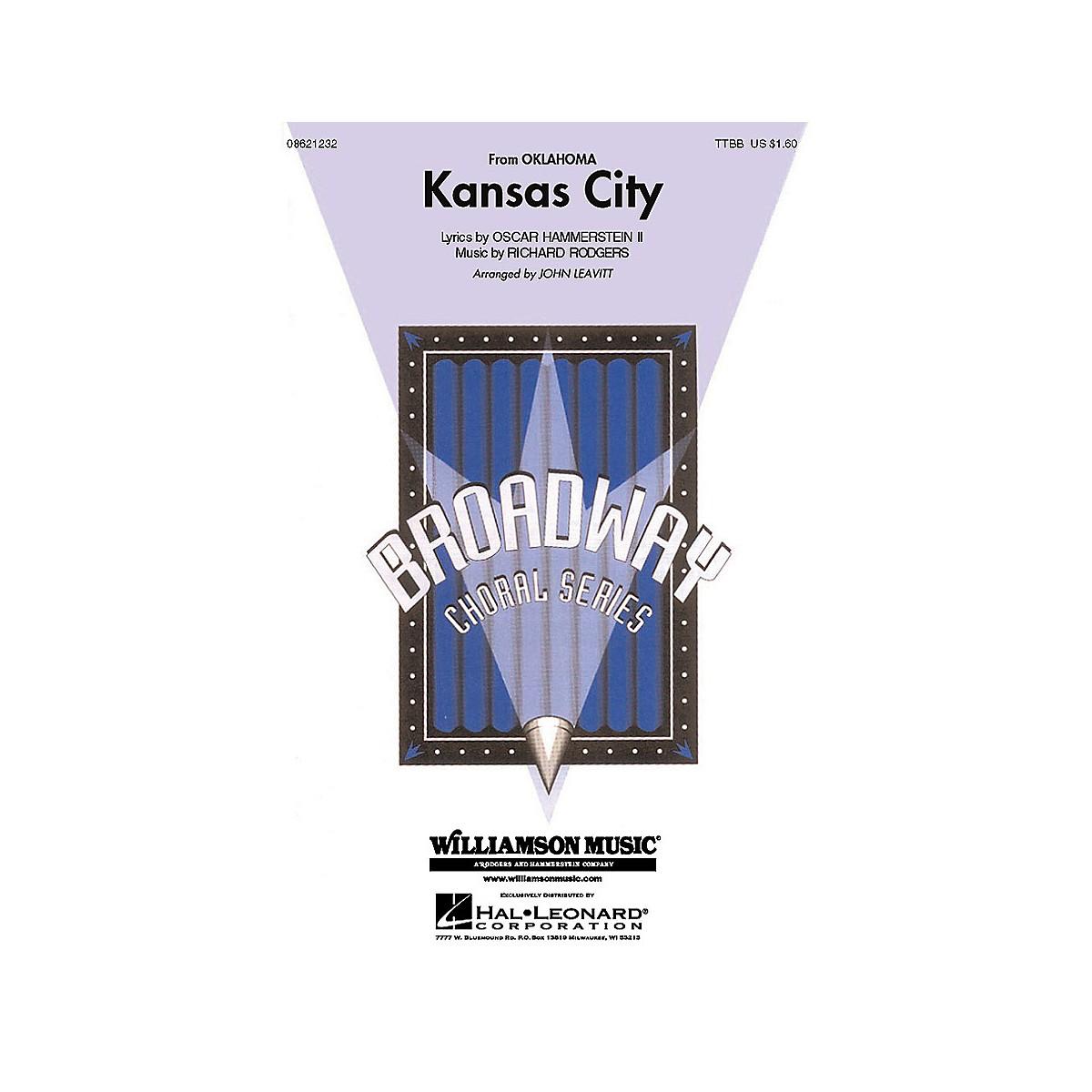 Hal Leonard Kansas City (from Oklahoma!) (TTBB) TTBB arranged by John Leavitt