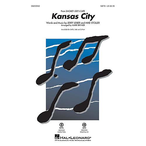 Hal Leonard Kansas City (from Smokey Joe's Cafe) SATB arranged by Mark Brymer