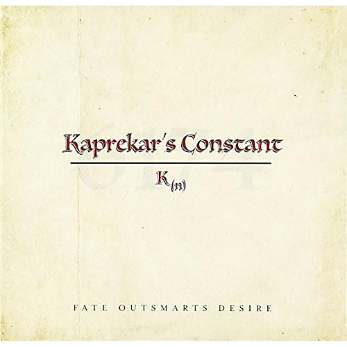 Alliance Kaprekars Constant - Fate Outsmarts Desire