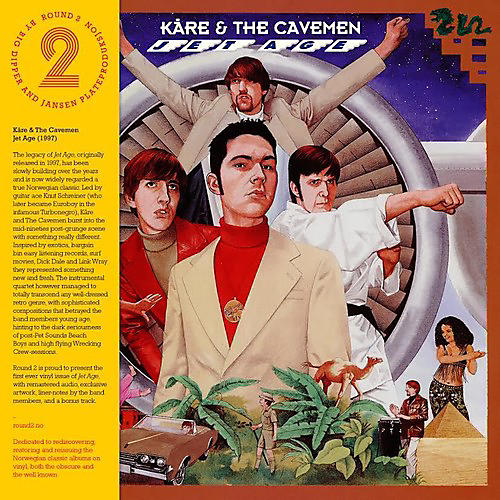 Alliance Kare & the Cavemen - Jet Age