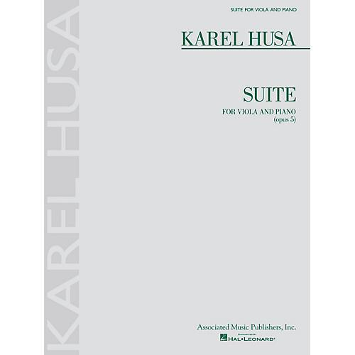 Associated Karel Husa - Suite for Viola and Piano, Op. 5 String Series