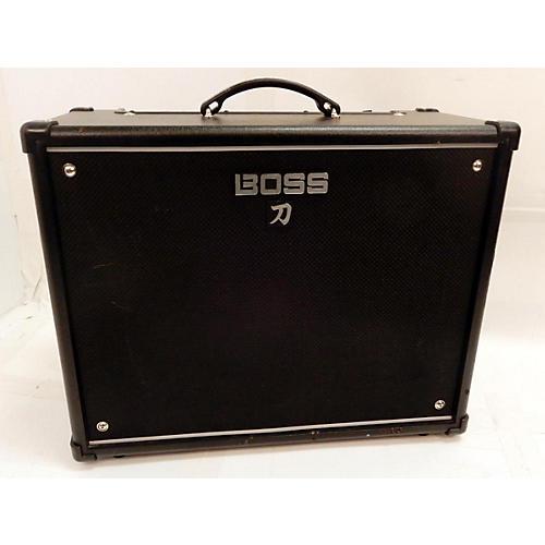 used boss katana 100 100w 1x12 guitar combo amp guitar center. Black Bedroom Furniture Sets. Home Design Ideas