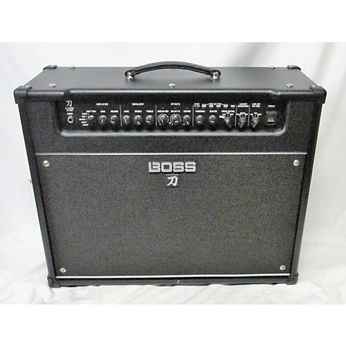 used boss katana artist 100w 1x12 guitar combo amp guitar center. Black Bedroom Furniture Sets. Home Design Ideas