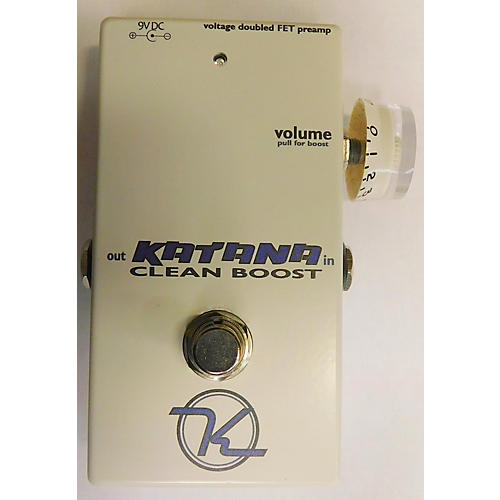Keeley Katana Clean Boost Effect Pedal