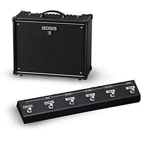 boss katana ktn 100 100w 1x12 guitar combo amplifier with ga fc foot controller guitar center. Black Bedroom Furniture Sets. Home Design Ideas