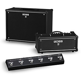 boss katana ktn head 100w guitar amplifier head and 212 150w 2x12 cabinet with ga fc foot. Black Bedroom Furniture Sets. Home Design Ideas