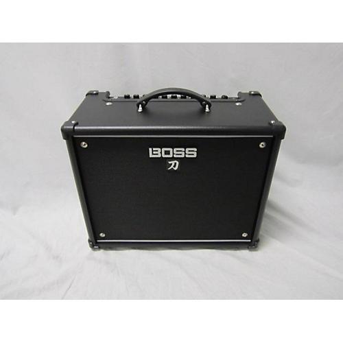 used boss katana ktn50 50w 1x12 guitar combo amp guitar center. Black Bedroom Furniture Sets. Home Design Ideas