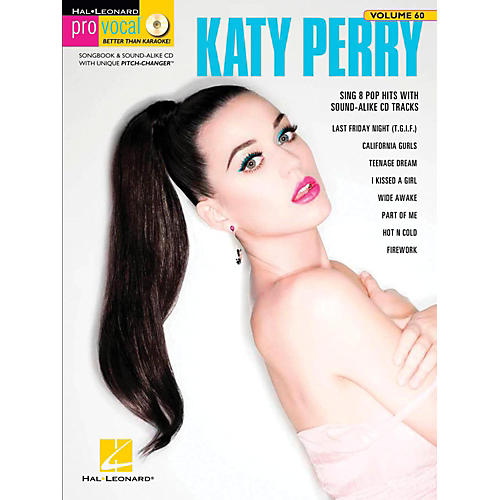Hal Leonard Katy Perry - Pro Vocal Songbook & CD For Female Singers Volume 60