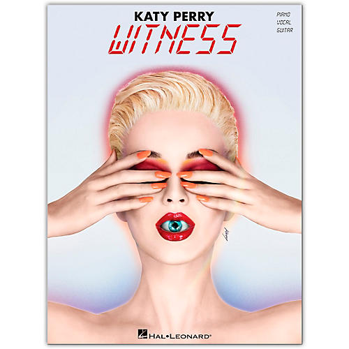 Hal Leonard Katy Perry - Witness Piano/Vocal/Guitar Songbook