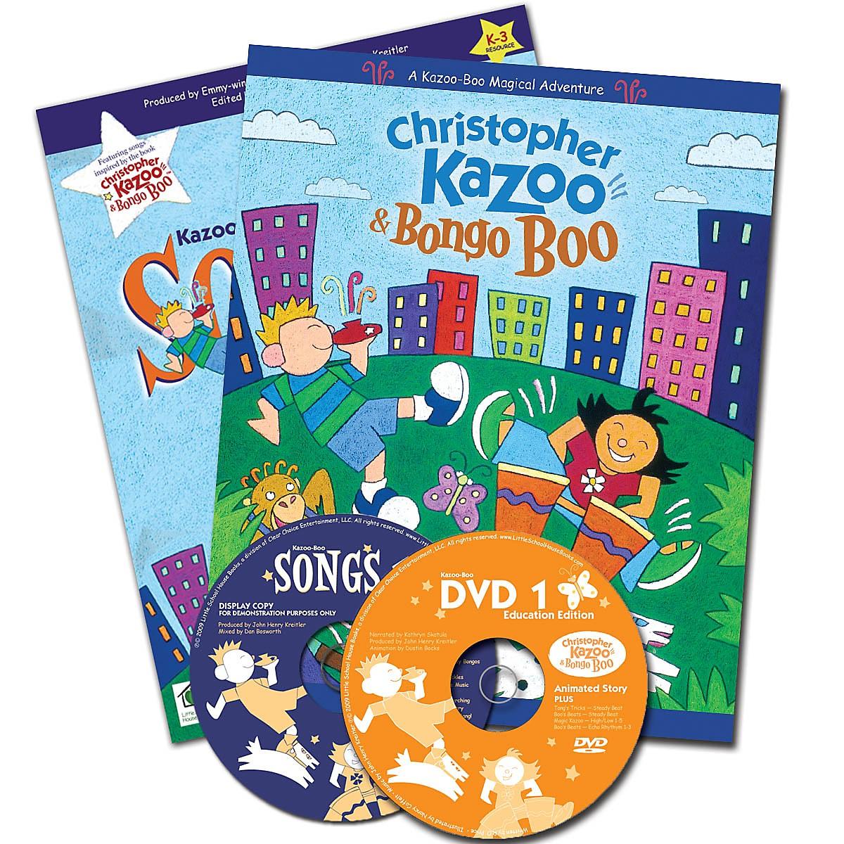 Artz Smartz Kazoo-Boo Complete Kit (Storybook, DVD, Songbook, CD & Activities for Pre-K & K-3) by John Henry Kreitler