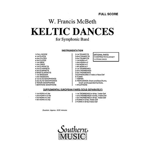 Southern Keltic Dances (Band/Concert Band Music) Concert Band Level 3 Composed by W. Francis McBeth