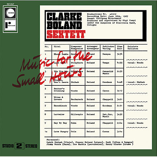 Alliance Kenny Clarke - Music for the Small Hours
