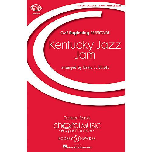Boosey and Hawkes Kentucky Jazz Jam (CME Beginning) 2PT TREBLE arranged by David Elliott