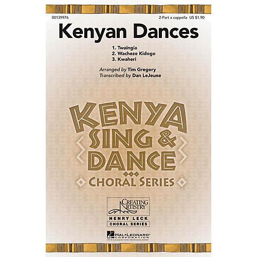 Hal Leonard Kenyan Dances 2PT/SOLO AC arranged by Tim Gregory
