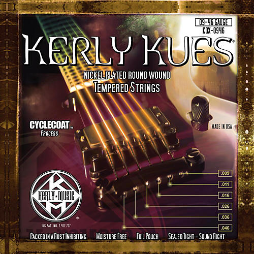 Kerly Music Kerly Kues Nickel Wound Electric Guitar Strings - Light Medium
