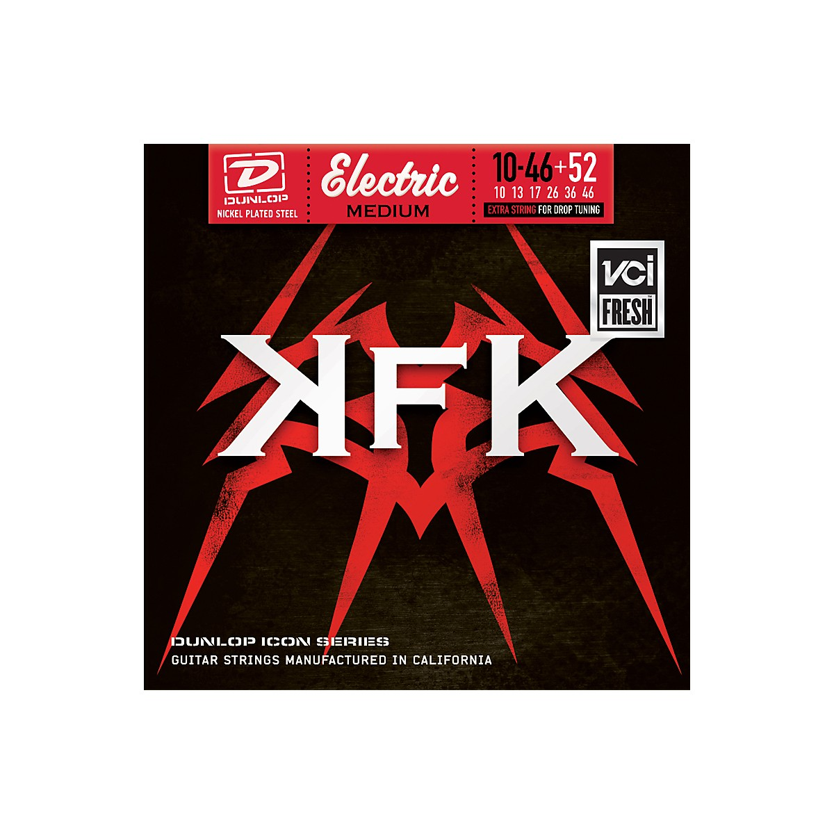 Dunlop Kerry King Drop Tuning Icon Series Signature Set