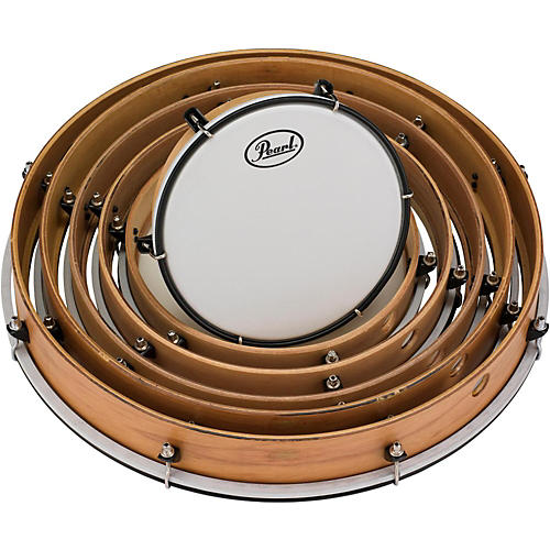 Pearl Key-Tuned Frame Drums Set