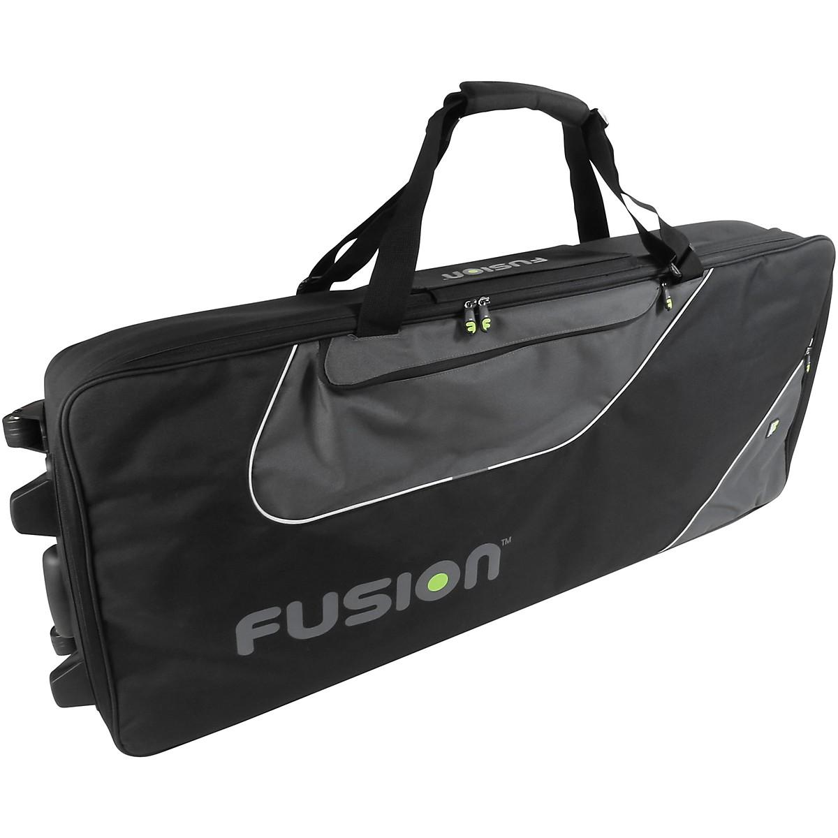 Fusion Keyboard 16 Gig Bag with Wheels (76-88 Keys)
