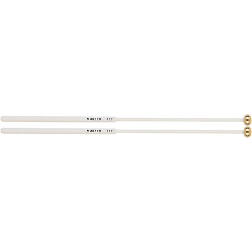 Musser Keyboard Brass Bell Mallets with Two Step Handle - MUS122