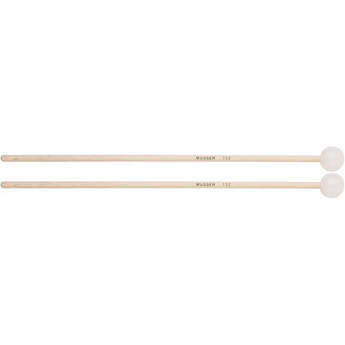 Musser Keyboard Hard Bell Mallets with Birch Handle - MUS132