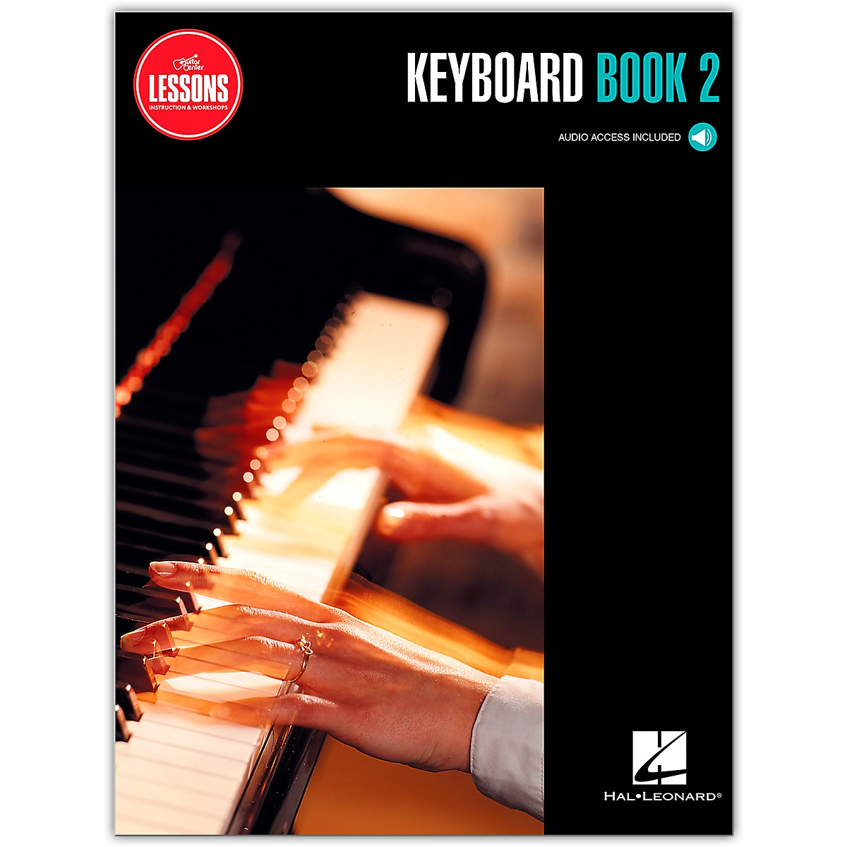 Guitar Center Keyboard Method Book 2 - Guitar Center Lessons (Book/Audio)