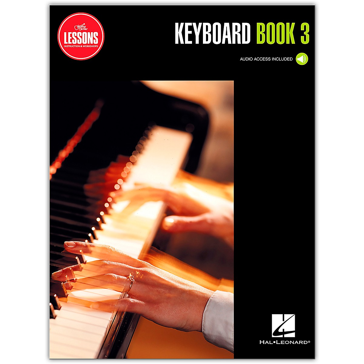 Guitar Center Keyboard Method Book 3 - Guitar Center Lessons (Book/Audio)
